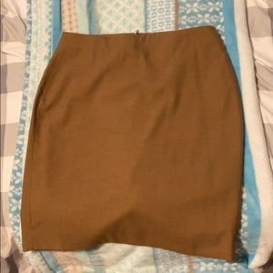 Camel colored skirt- great condition